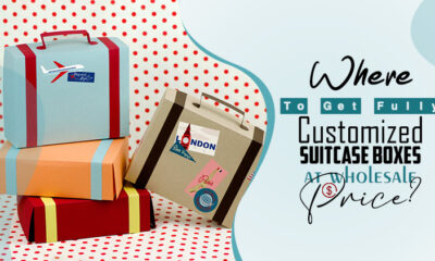 Where to get fully customized suitcase boxes at wholesale price